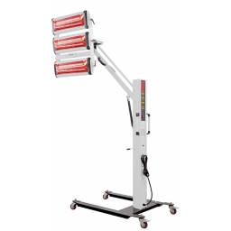 Lámpara de secado triple IR paralela tipo TD
